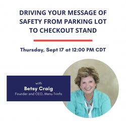 Driving Your Message of Safety